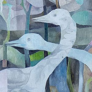 Ausstellung Werner Zöhl, Vogelwelten